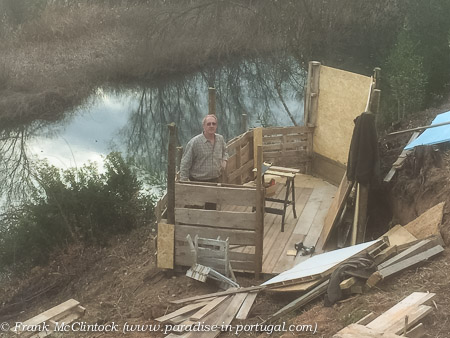Building the Water Rail Hide