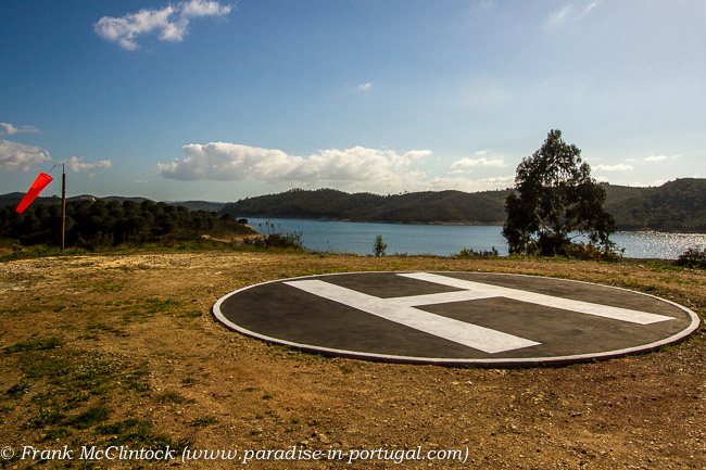 The new Helipad